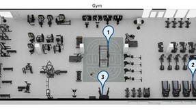 """The new Staff Centre – """"Feel like working out?""""  A modern gym, a modern workout"""