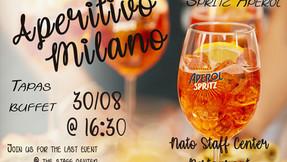 Aperitivo Milano- Last Summer Event