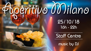 The October Aperitivo Milano event will Rock N Roll