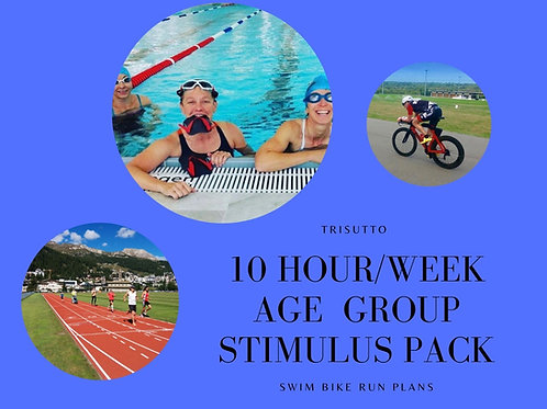 Stimulus Pack - Age Group (10 hours pw)