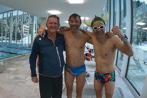 14 Swim sets 1000 - 2200m