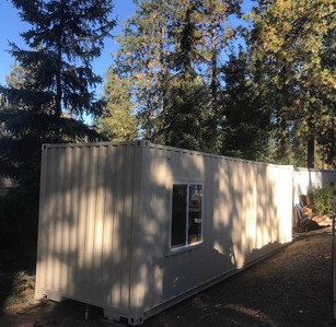 Roll in a Room's First Tiny House--Shipping Containter