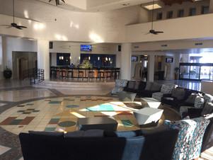 The lobby & the Bar