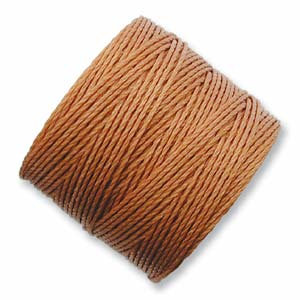 S-lon Bead Cord Copper - 77yd