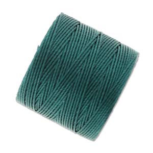 S-lon Bead Cord Green Blue - 77yd