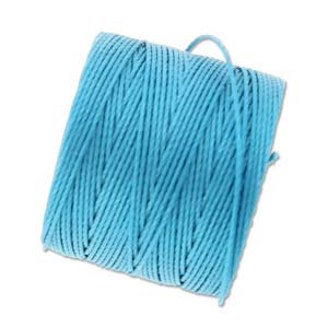 S-lon Bead Cord Bermuda Blue - 77yd