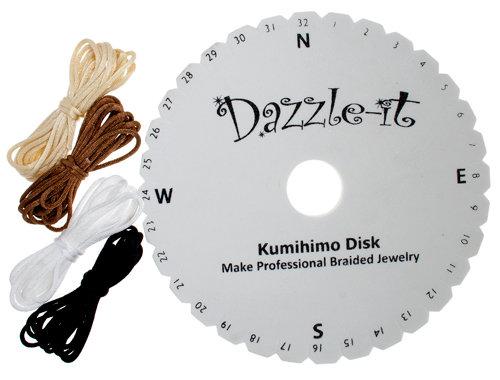 "Dazzle-It 5.7"" Round Braid Kumihimo Disc Kit"