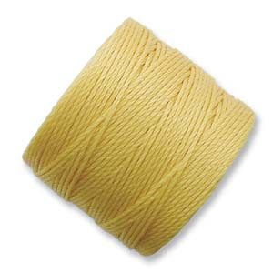 S-lon Bead Cord Golden Yellow - 77yd