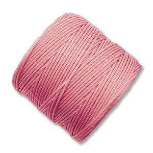 S-lon Bead Cord Pink - 77yd