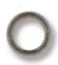 4mm Round Jump Ring Black Oxide