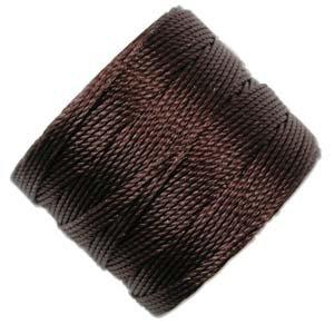 S-lon Bead Cord Chocolate - 77yd