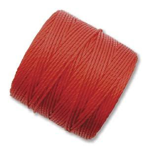 S-lon Bead Cord Shanghai Red - 77yd