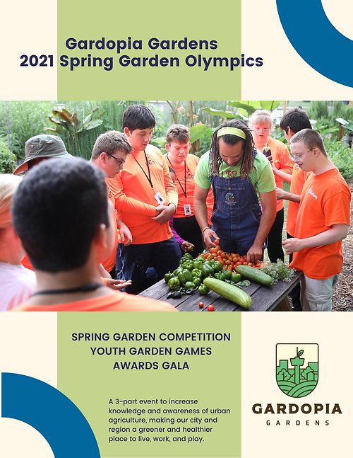 6-Pager Sponsorship Packet - Garden Olym