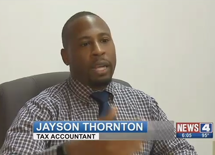 St. Louis Tax Advisor | Accountant Jayson M. Thornton
