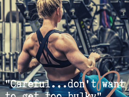 Be Careful! You Don't Want To Get Bulky