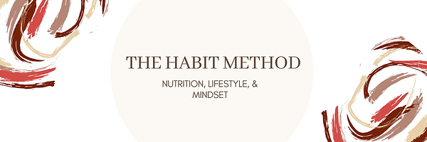 The habit method online course Nutrition Lifestyle and Mindset