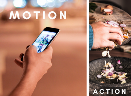 When it Comes to Achieving Your Goals, Don't Confuse Motion with Action