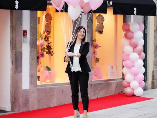 O Showroom Dora Guimarães em Braga Celebra o seu 1º Aniversário