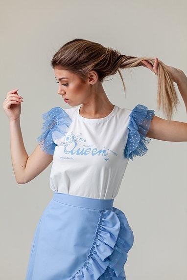 QUEEN BLUE t-shirt