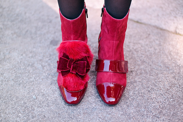 NOEMIA INTENSE RED botas
