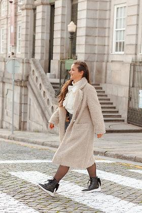 CELESTIAL casaco comprido