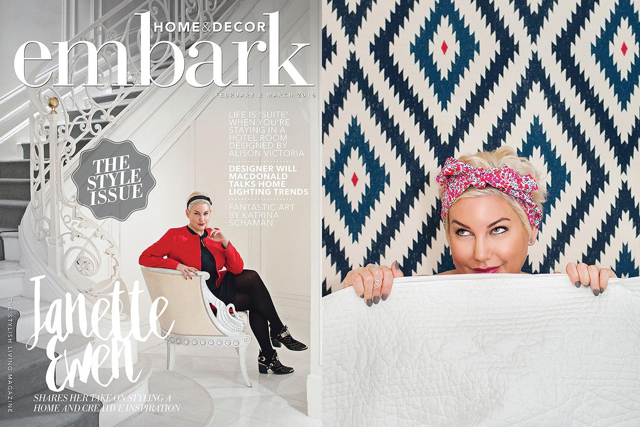 Janette Ewen, Embark Magazine