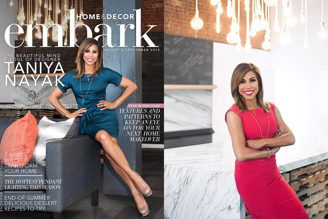 Taniya Nayak, Embark Magazine
