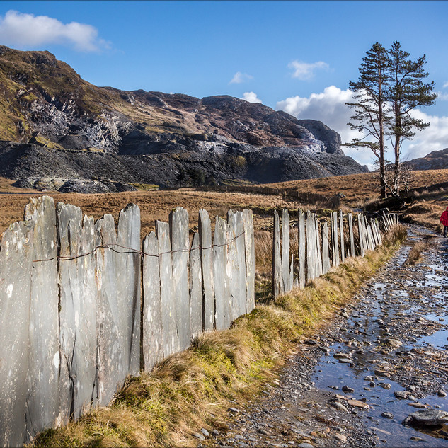 A trek to abandoned Cwmorthin village