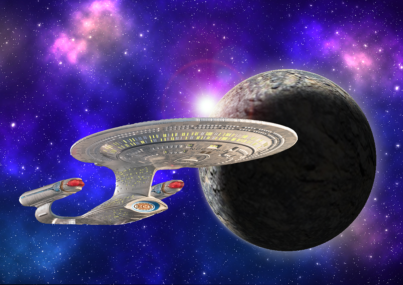 To boldly go......Print.