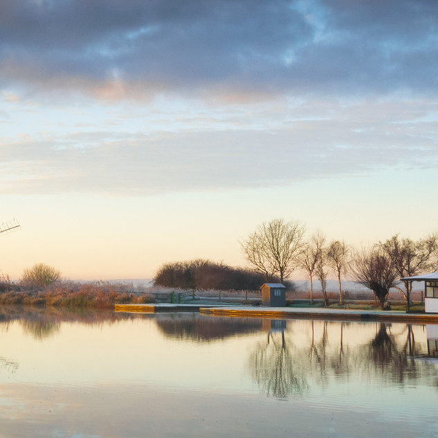 Early Morning at Thurne