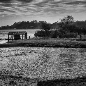 Evening at the old boathouse