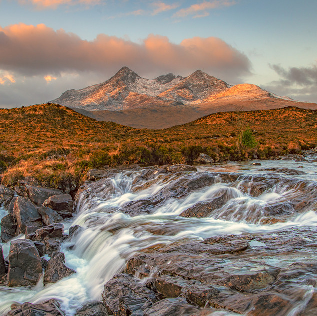 First light over the Cuillins