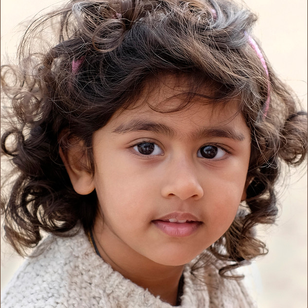 Little Hindu Girl