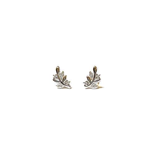 SD Leaf Earrings