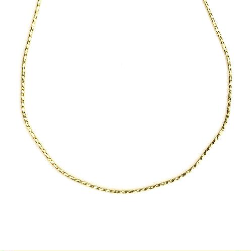 Thin Snake Skin Necklace