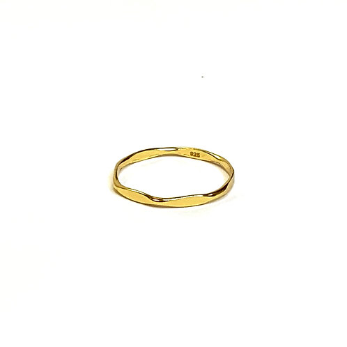 Dainty Gold Plated Ring