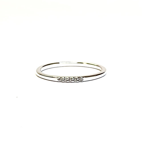 5 simulated Diamond Ring