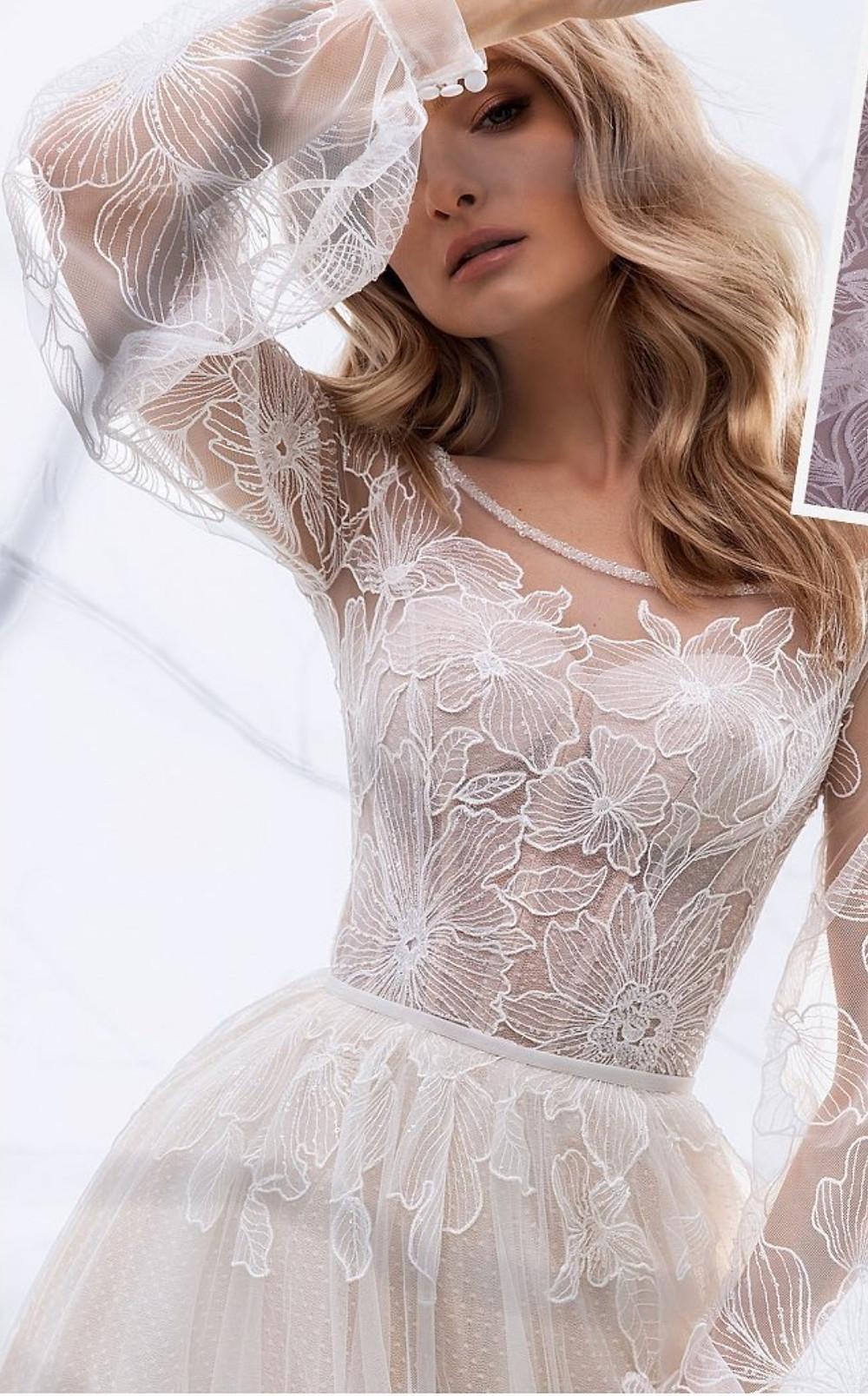свадебное платье в стиле бохо, купить свадебное платье Киев