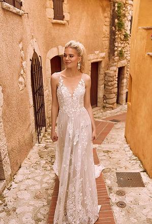 свадебное платье кружевное на бретельках купить свадебное платье киев