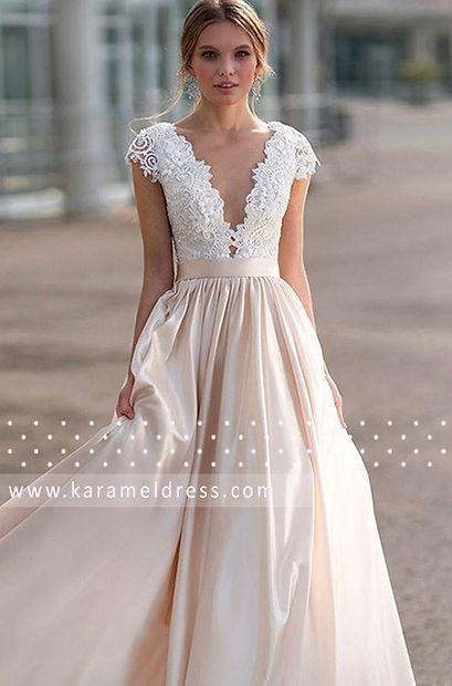 свадебное платье с кружевом 2021
