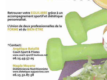 Centre agape, forfait diététique et sport à Toulouse
