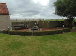 Tuin zomer fontein