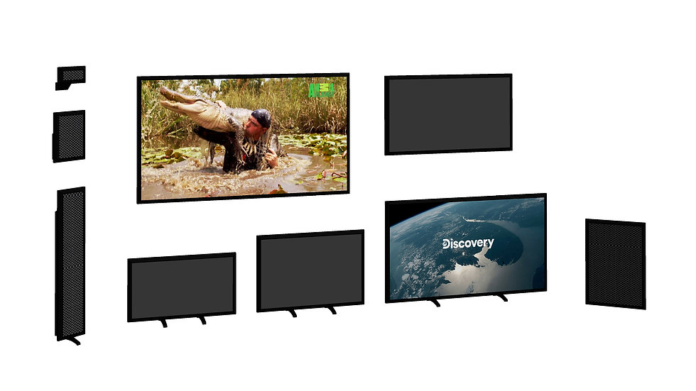 Super Family - TV + Equipment