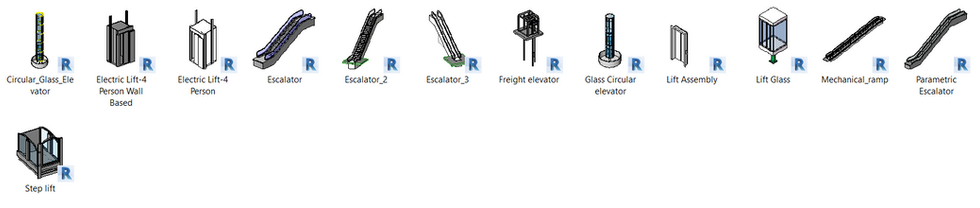 Mechanical - Lifts and Escalators Galler