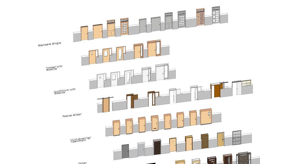 Single Door Template Library