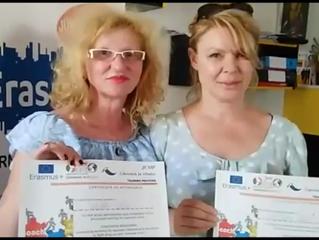 Snježana Lančić i Suzana Sokelena treningu Coaching and Mentoring u Soveratu u Italiji