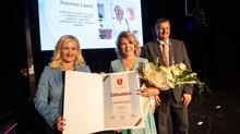 Snježana Lančić received an award for public merits