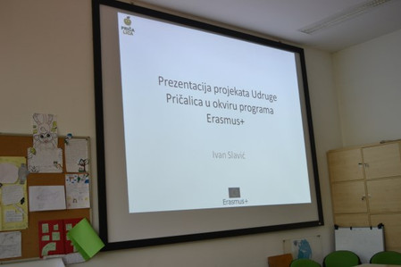 Predstavljanje Erasmus+ projekata Udruge na sveučilištu u Zagrebu