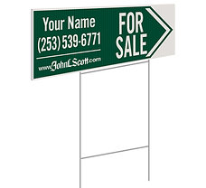 John L. Scott Personalized Directional Sign