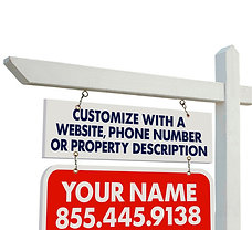 Better Properties Personalized Yard Sign Rider